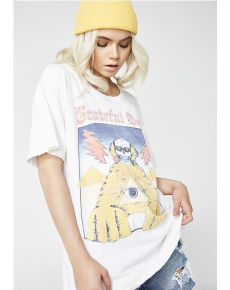 Grateful Dead Pyramids Tee