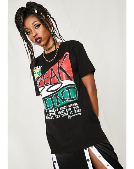 Speak Yo Mind Graphic T-Shirt
