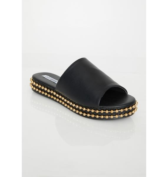 Bling Queen Studded Slides