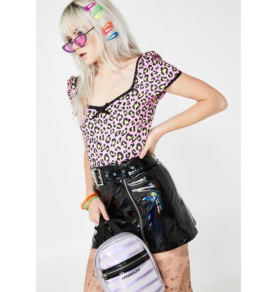 HOROSCOPEZ Dark Energy PVC Skirt