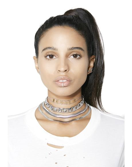 Hard Knocks Layered Necklace