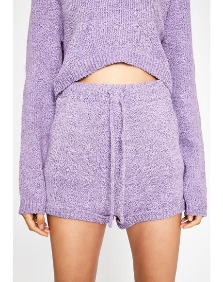 Street Grooves Knit Shorts