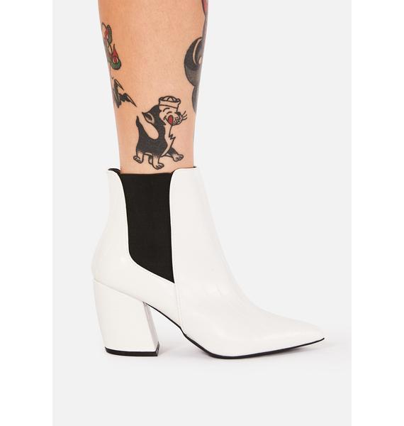 Croc Born Fierce Ankle Boots