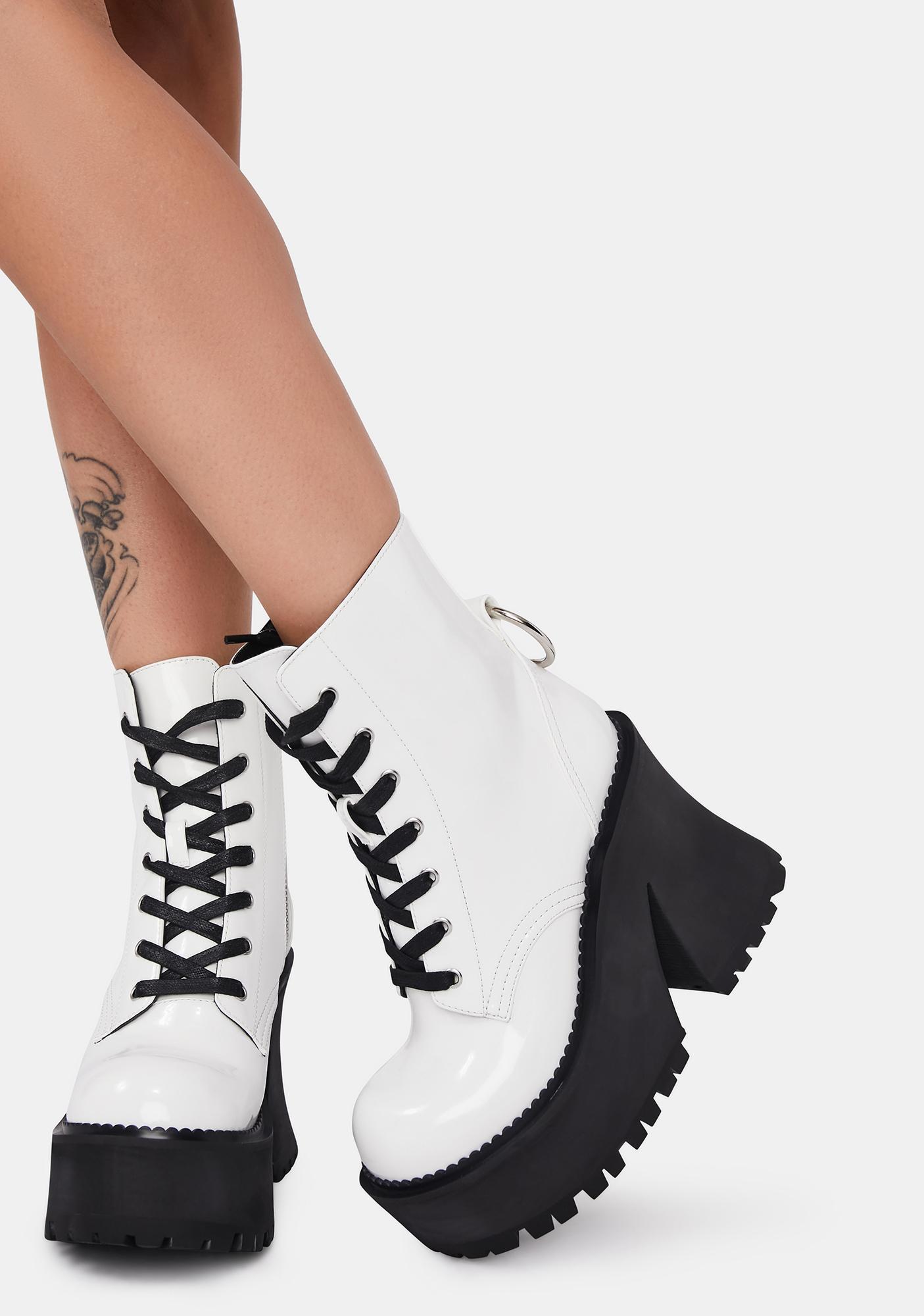 dELiA*s by Dolls Kill Labor Of Love Combat Boots