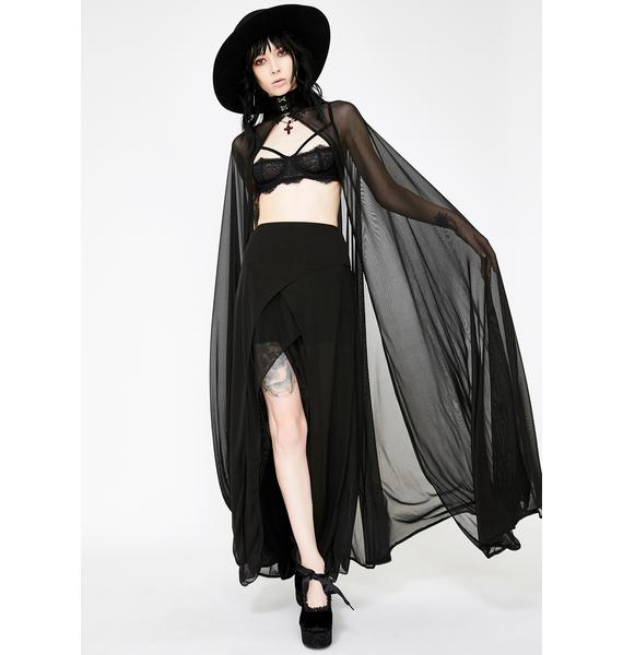Necessary Evil Aphrodite Skirt With Shorts