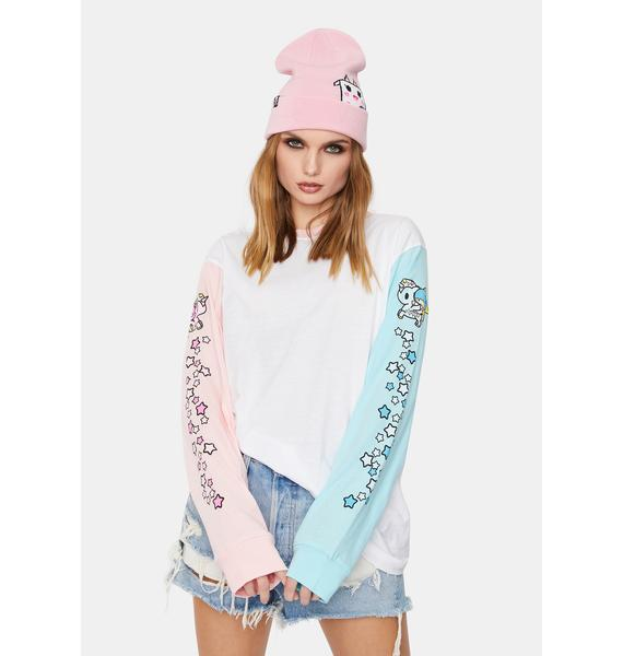 Tokidoki x Hello Kitty And Friends Twin Sleeve Long Sleeve Tee