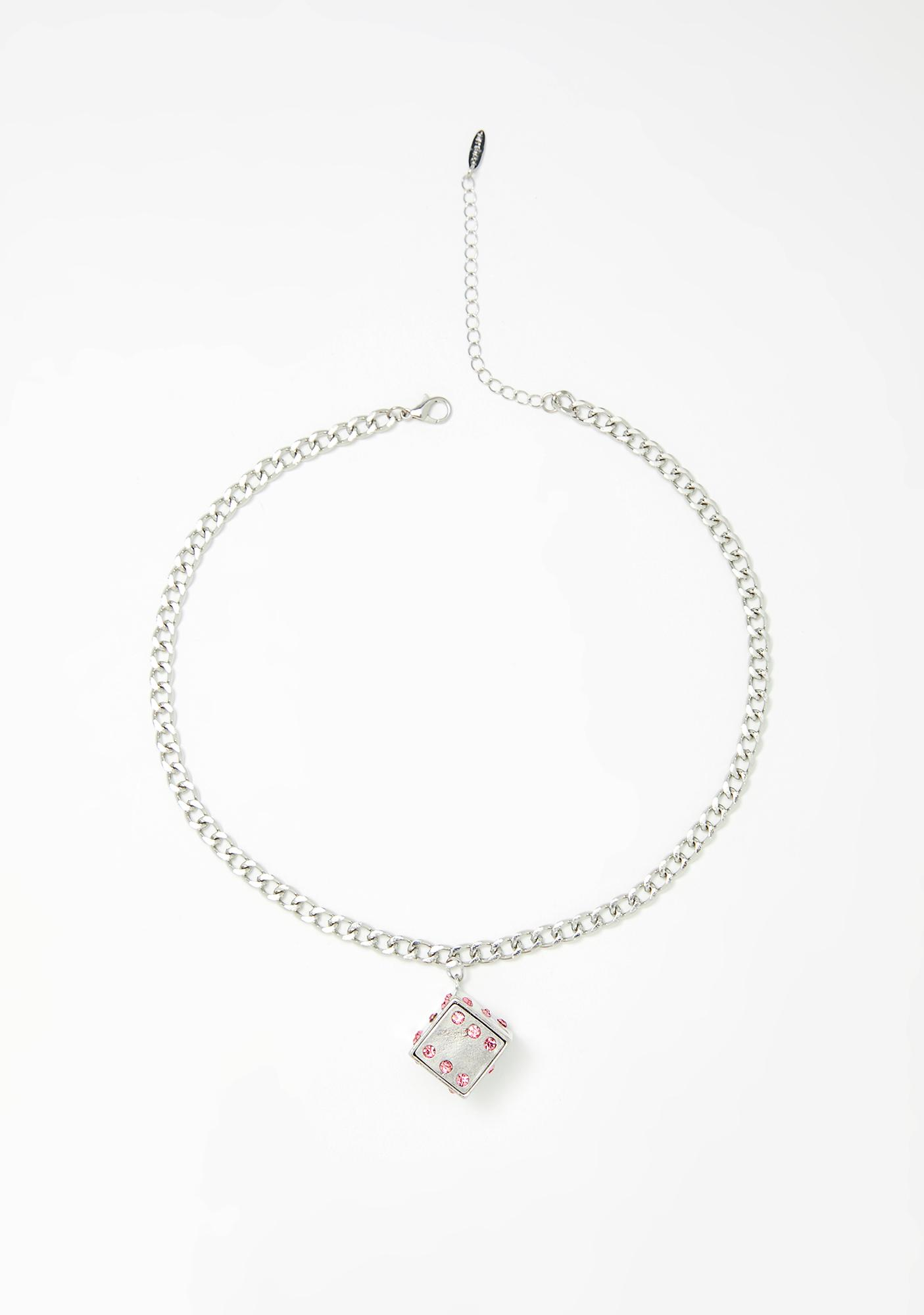 Lady Luck Dice Necklace