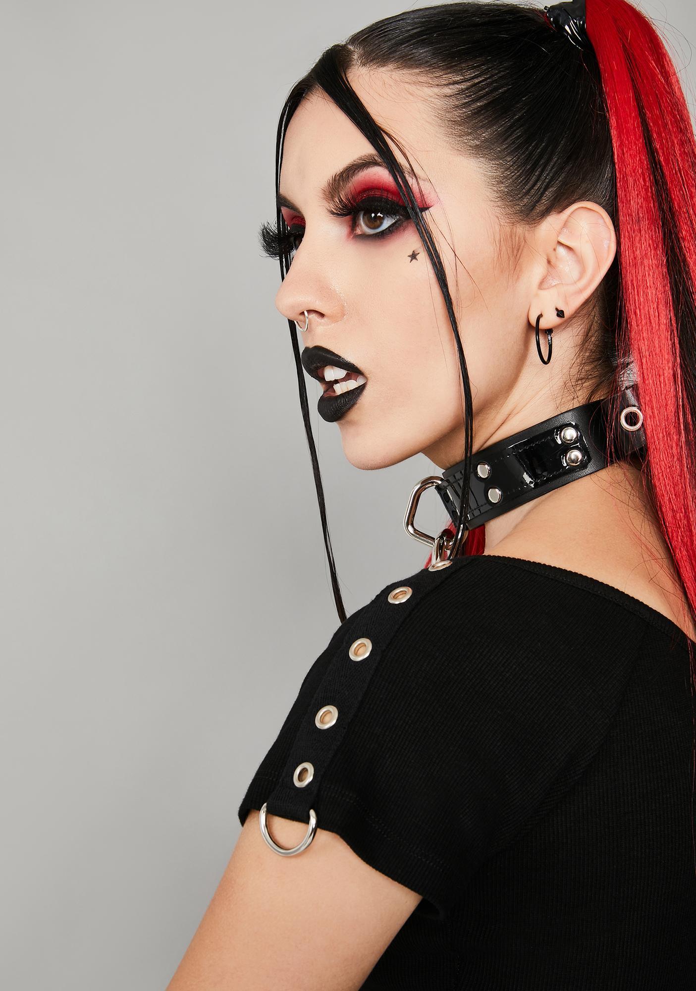 Widow Beautiful Nightmares Crop Top