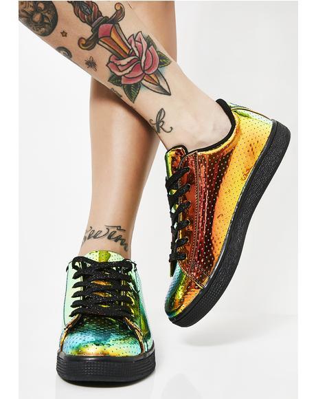 Jeweled Beetle Bae Sneakers