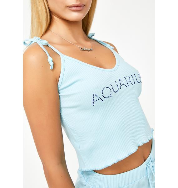 HOROSCOPEZ Aquarius AF PJ Top