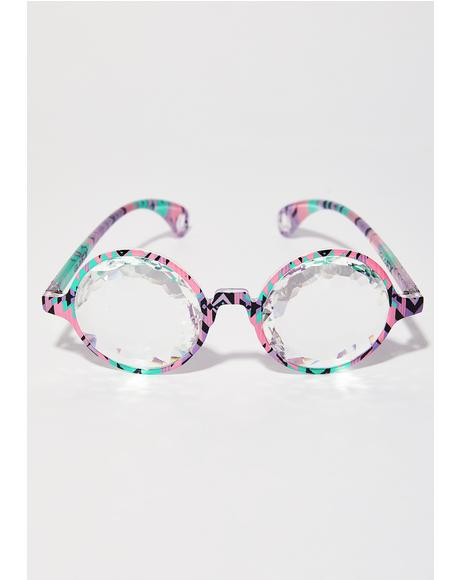Aztec Kaleidoscope Glasses