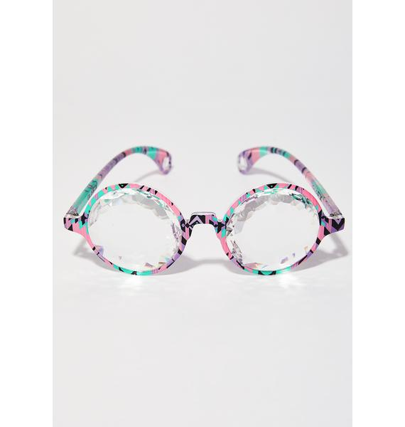 GloFX Aztec Kaleidoscope Glasses