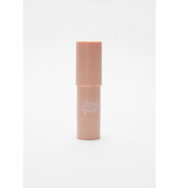 Glam & Grace Icy Lilac Highlighter Multistick