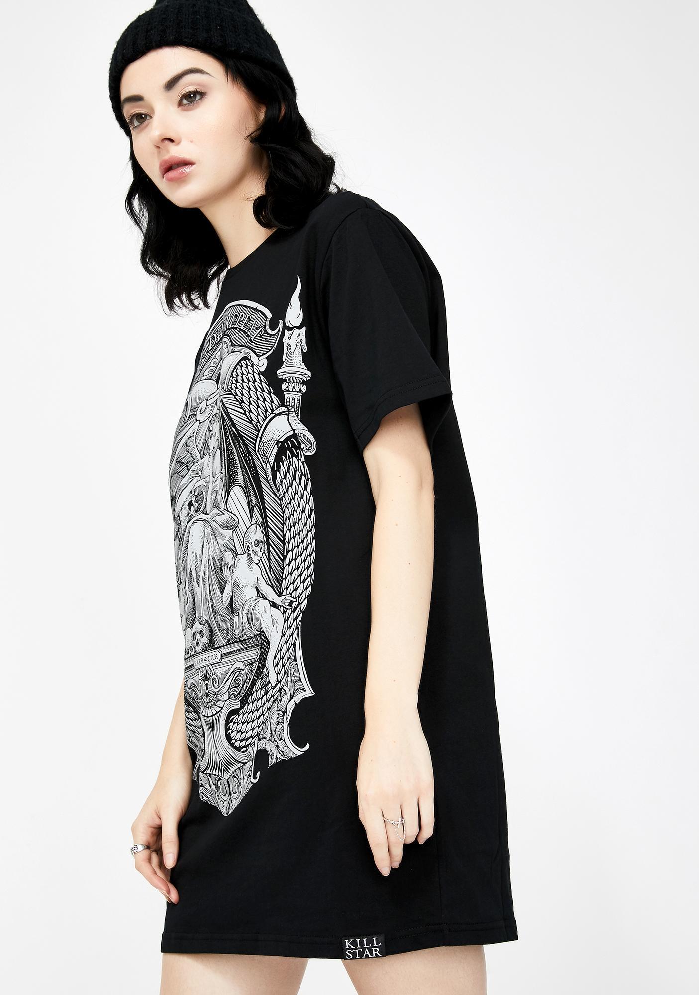 Killstar Matrix Graphic T-Shirt