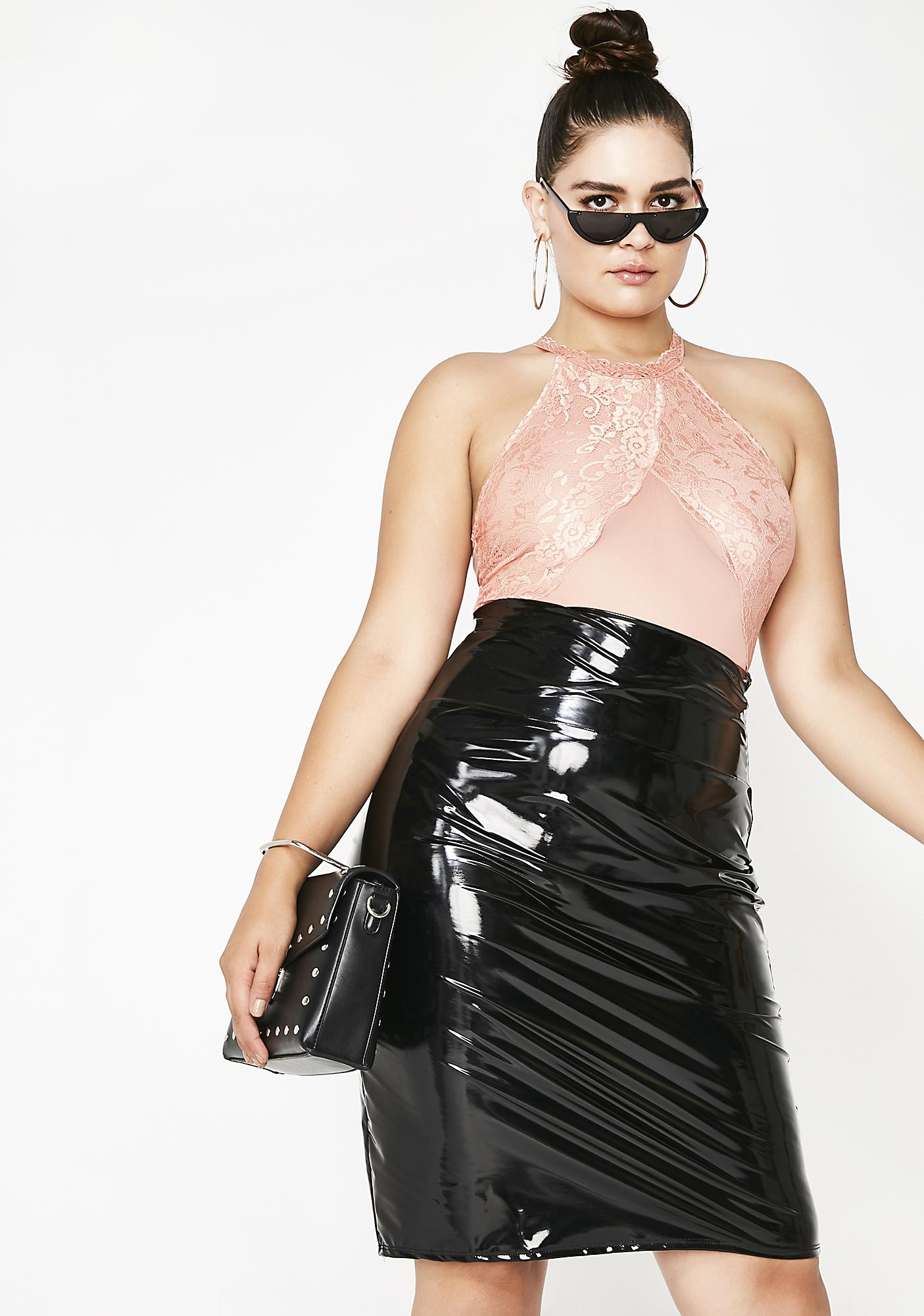 Rosy Slay Sista Halter Bodysuit