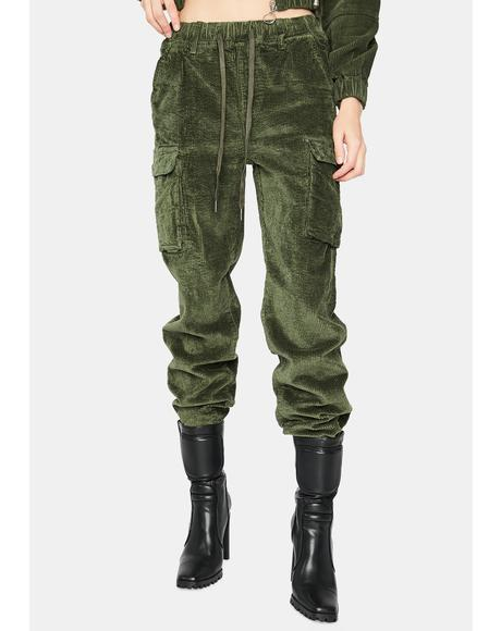 I Know Places Cargo Joggers