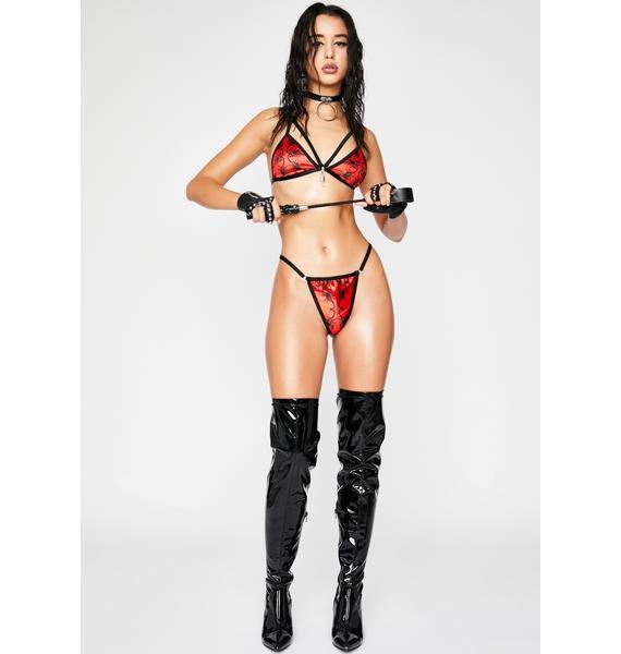 HOROSCOPEZ Dressed To Kill Thong Panties