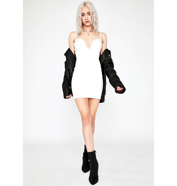 Vanilla Beautiful Liar Mini Dress