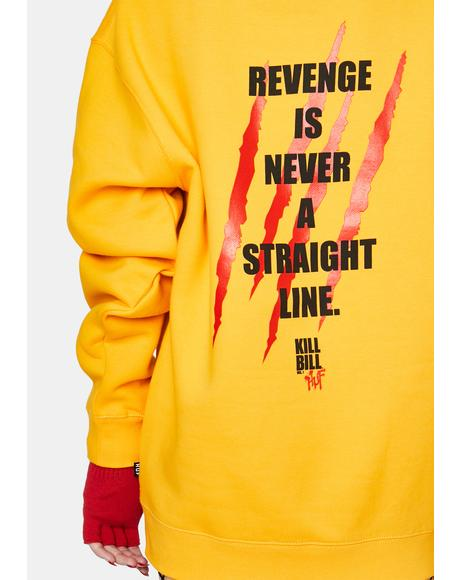 Revenge Graphic Pullover Hoodie