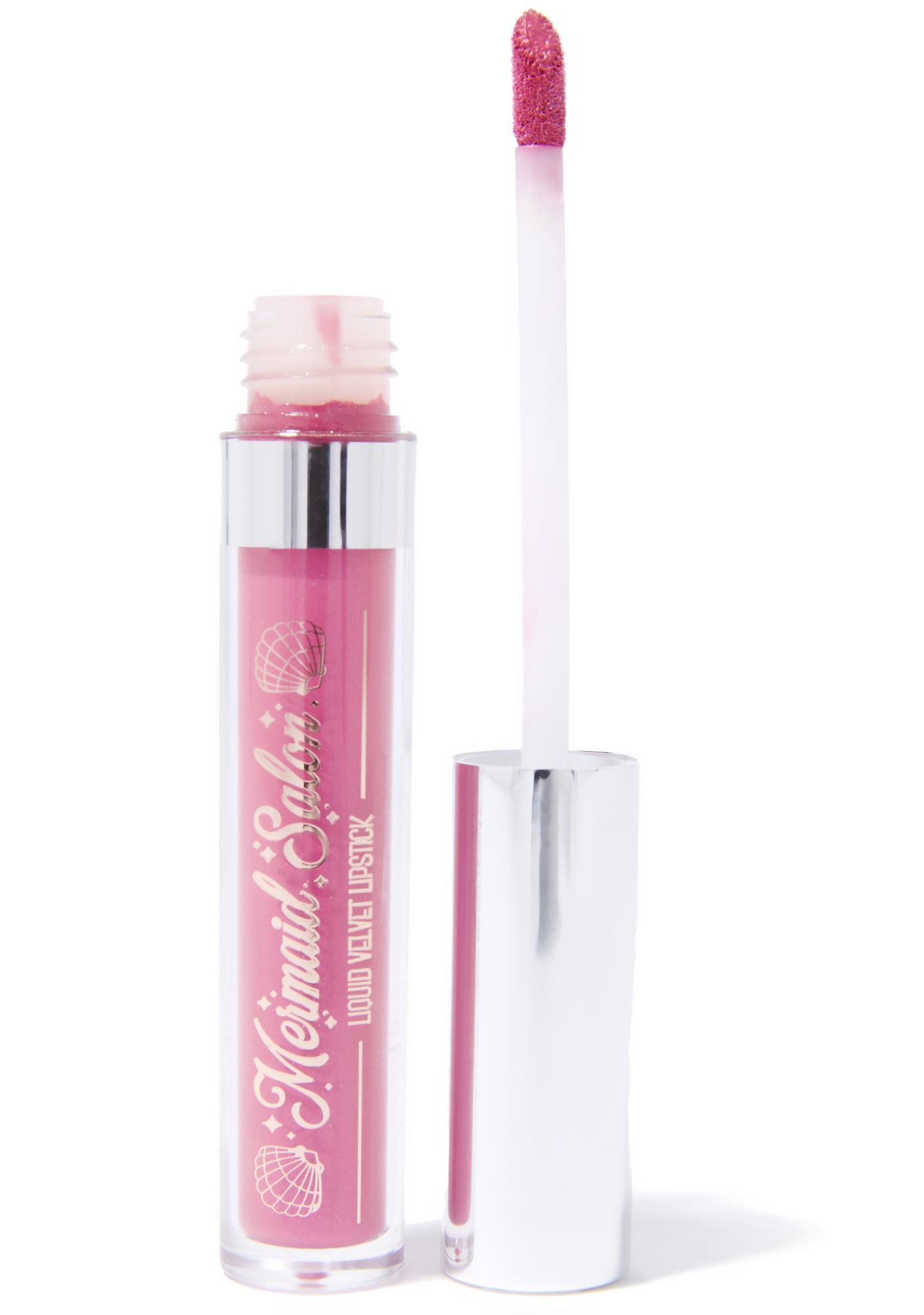Mermaid Salon Queen Anne Liquid Lipstick