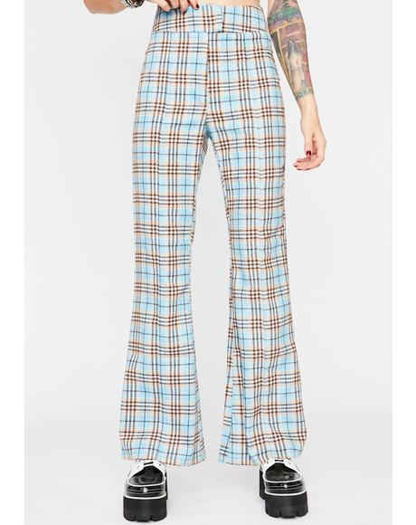 On Repeat Plaid Pants