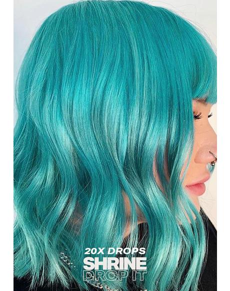 Aqua Hair Drop It Dye Kit