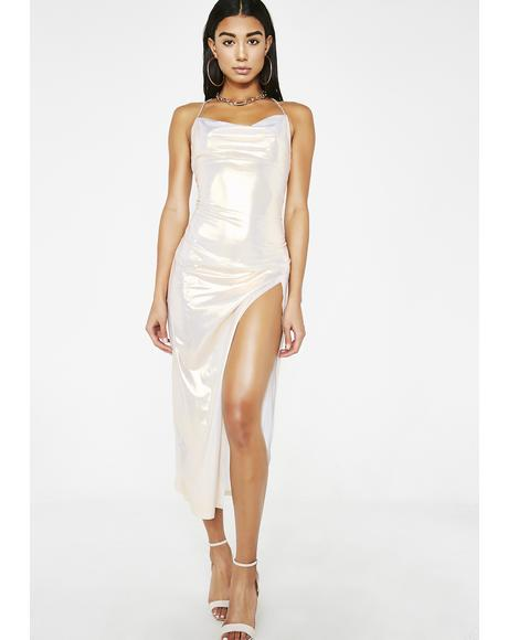 Young Mula Metallic Dress