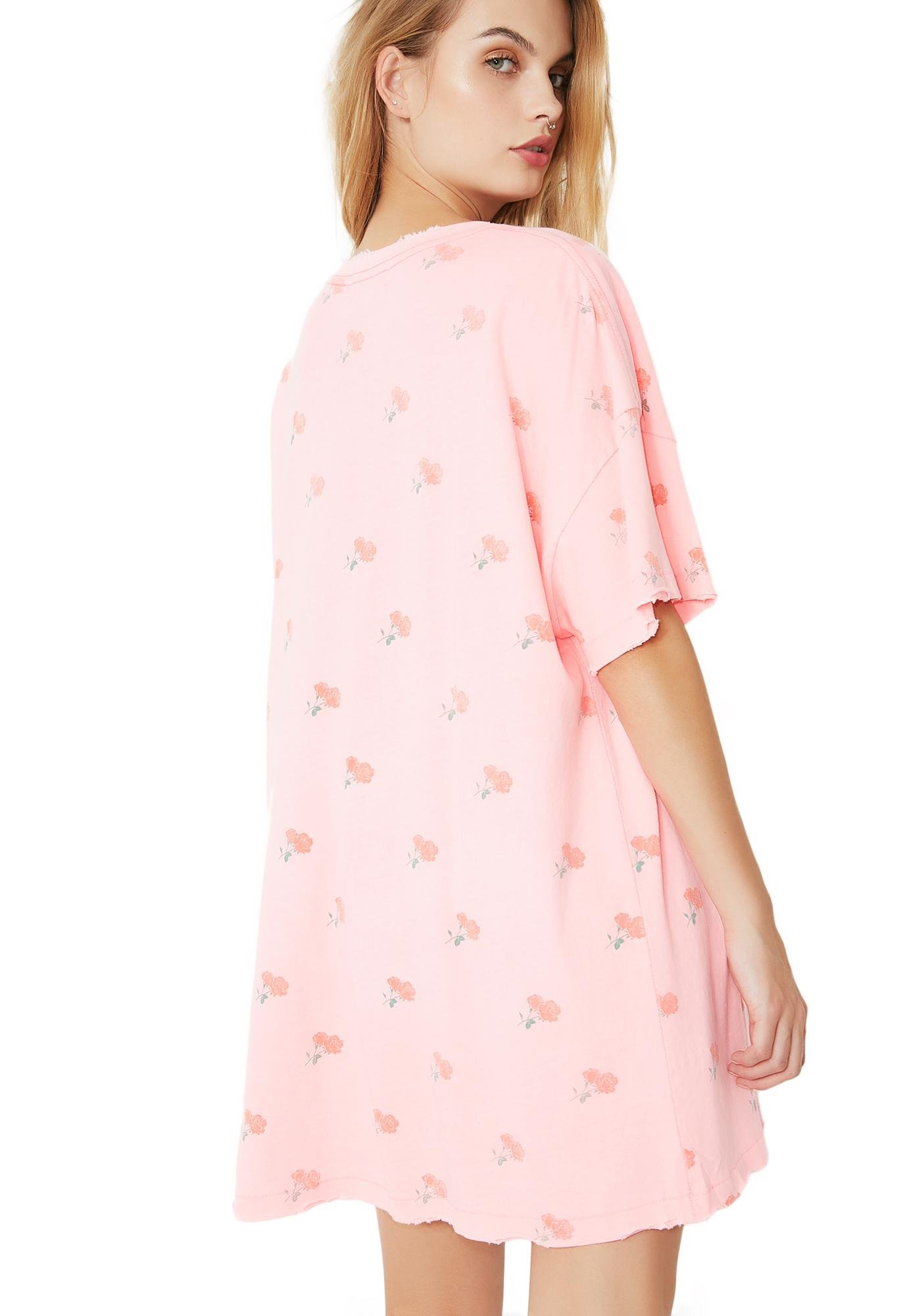 Wildfox Couture Rose Ditsy Party Doll Dress