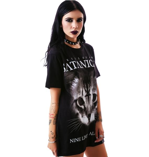 Killstar Satanic Cat T Shirt