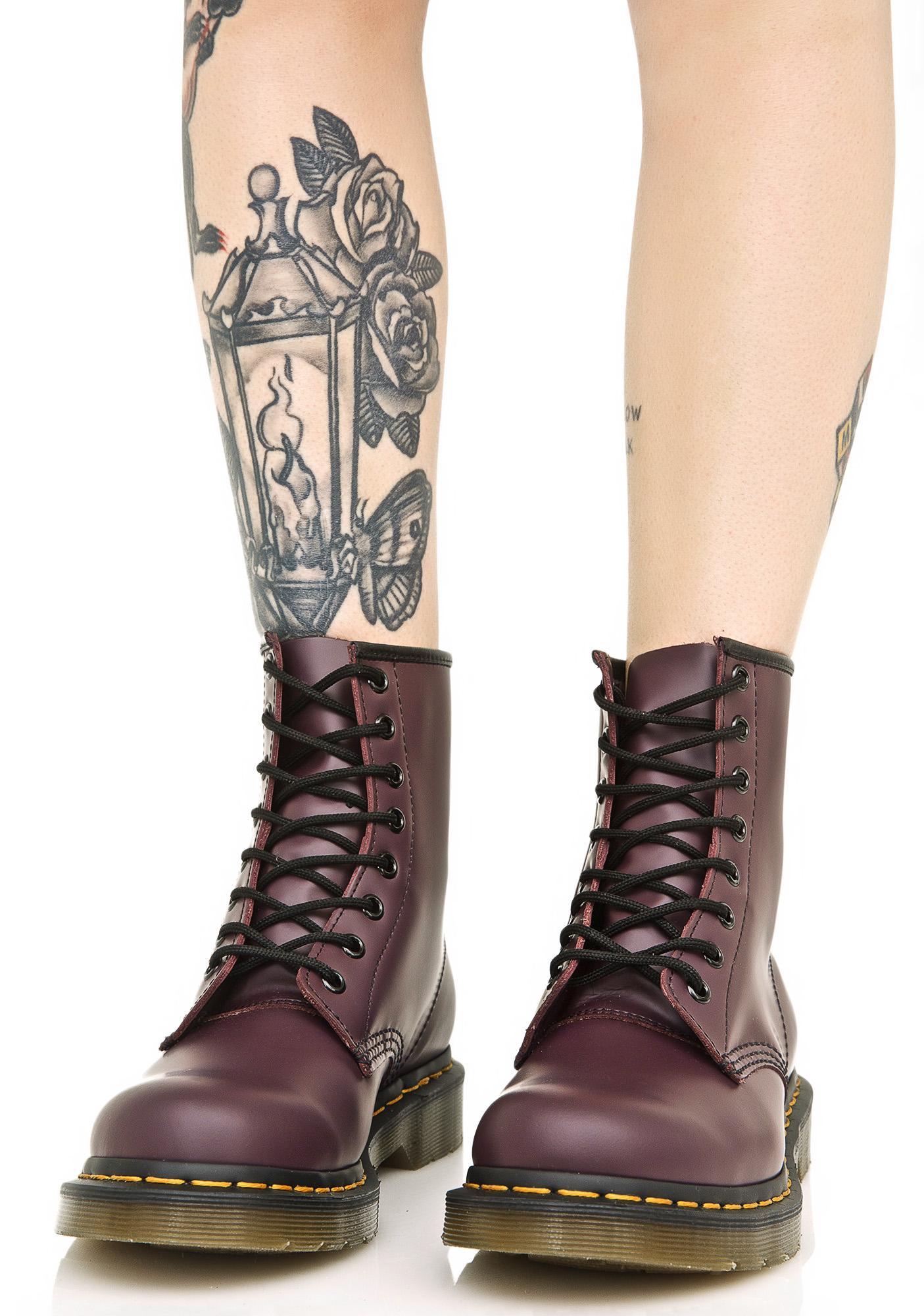 Dolls Boots 1460 Dr Kill Eye Martens 8 Royal Purple twYq0YU6