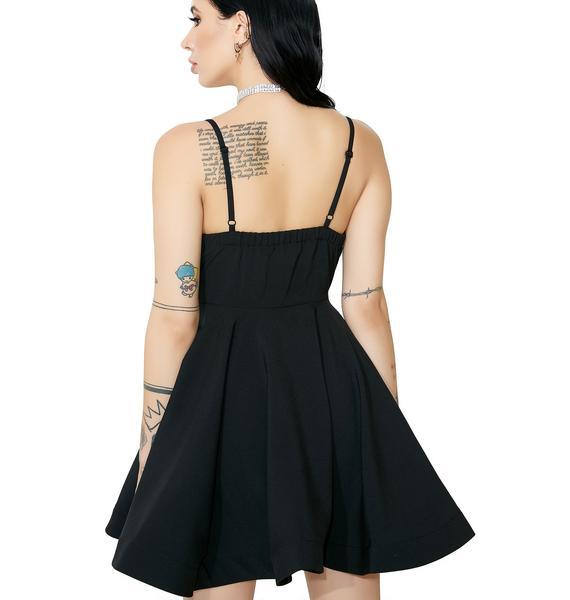 One Dance V-Neck Dress