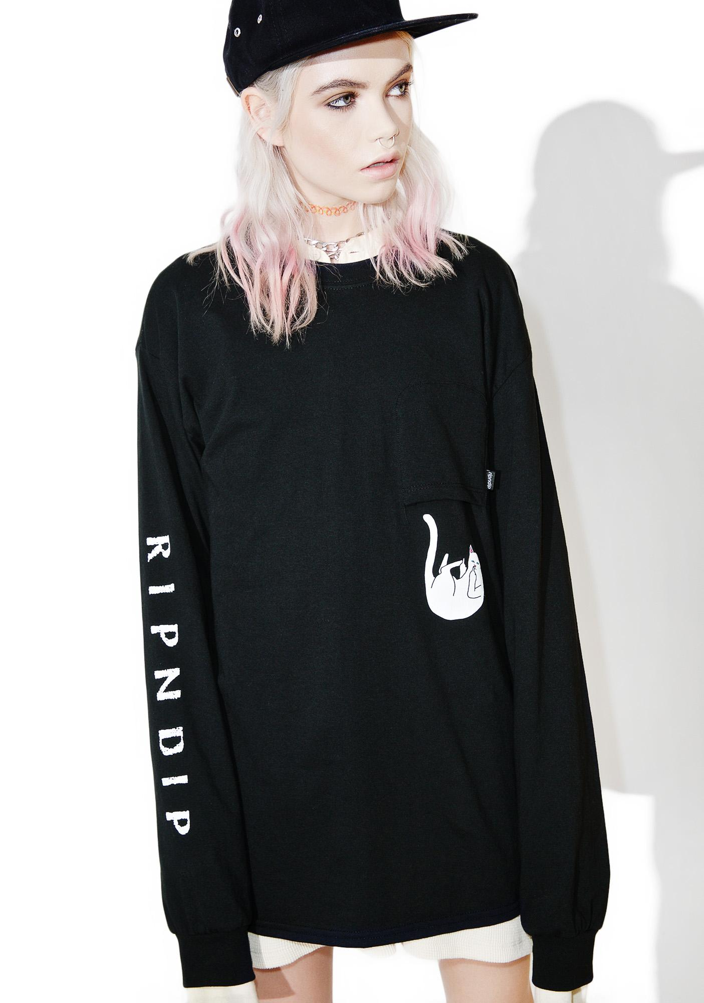 RIPNDIP Falling For Lord Nermal Long Sleeve