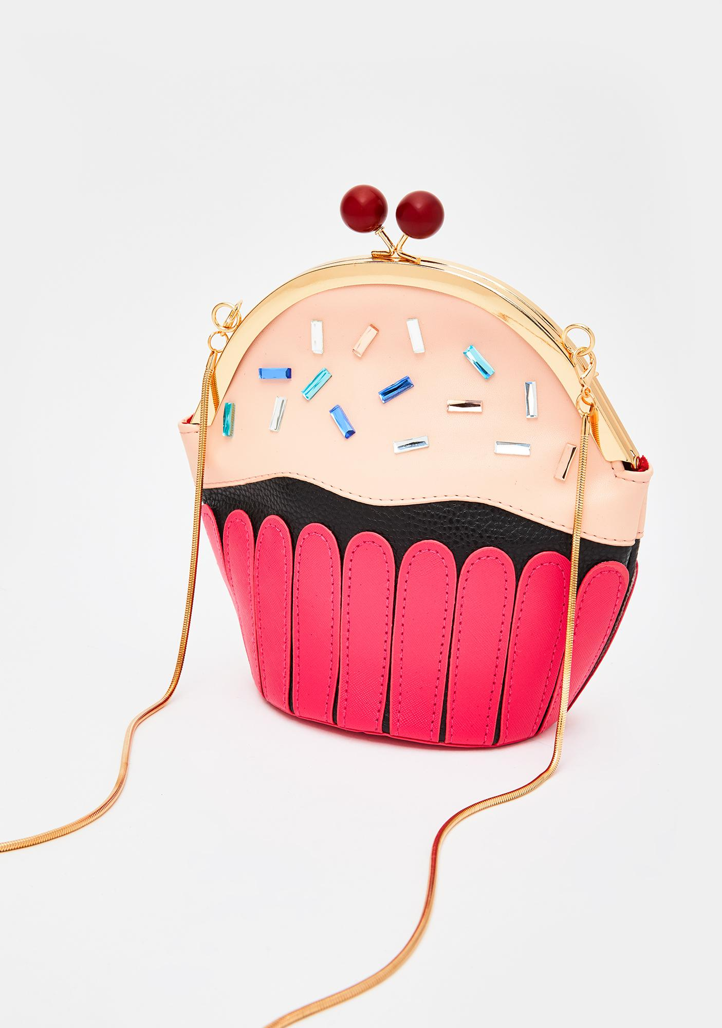Icing On Top Cupcake Crossbody