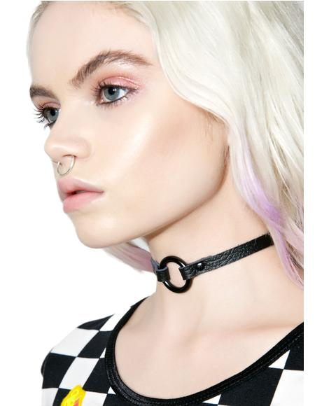 Rough Edge O-Ring Choker