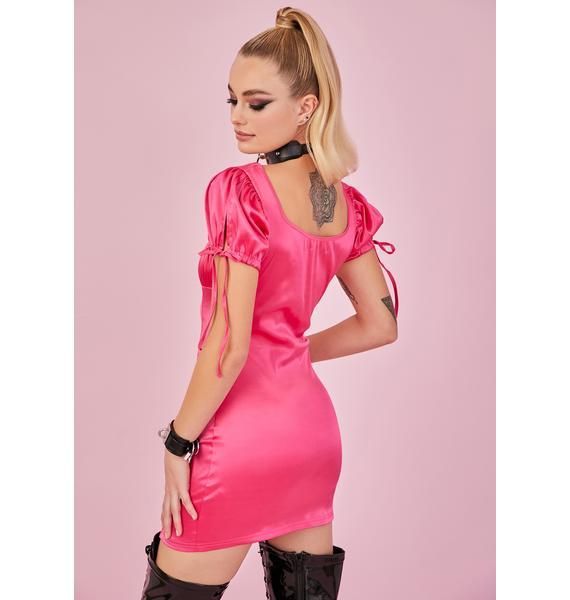 Sugar Thrillz Motives For Love Bodycon Dress