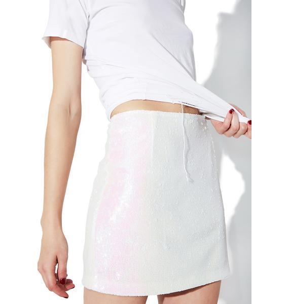 Motel Ringgo Pearl Diaz Mini Skirt