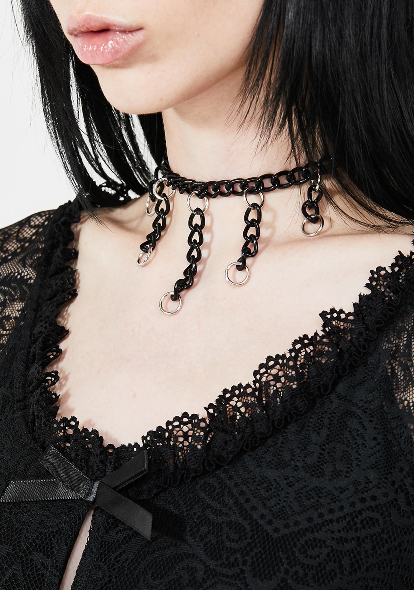 Chain Reactor Necklace