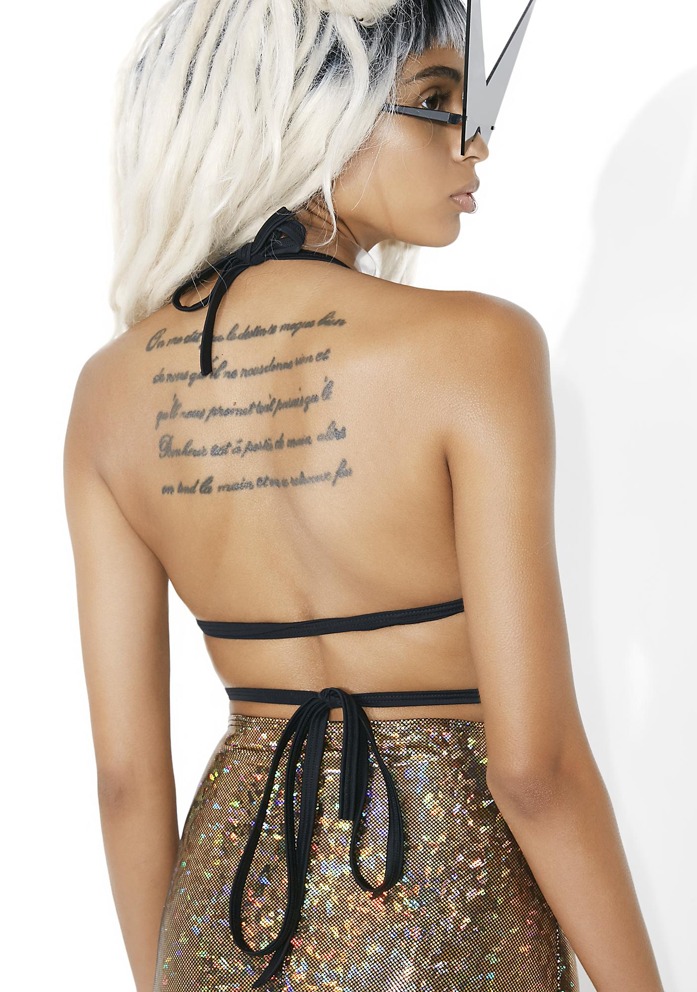 33f129049f ... Mi Gente Clothing Gold Dust Wrap Bralette