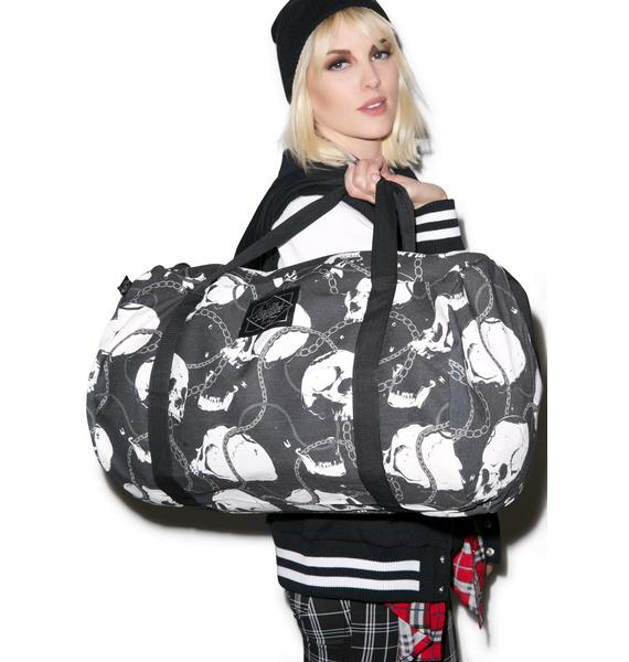 Laughing Skullz Duffle Bag