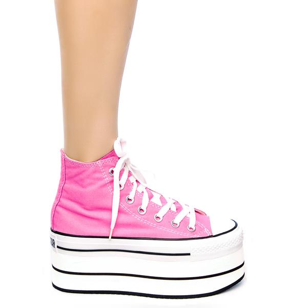 Converse Seed of Chucky Taylor Platform Sneakers