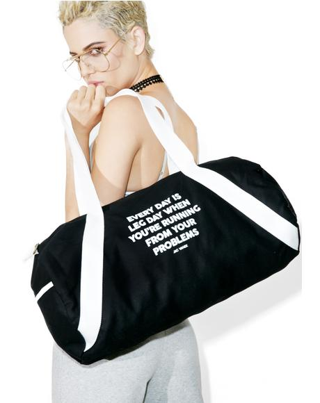 Leg Day Duffle Bag