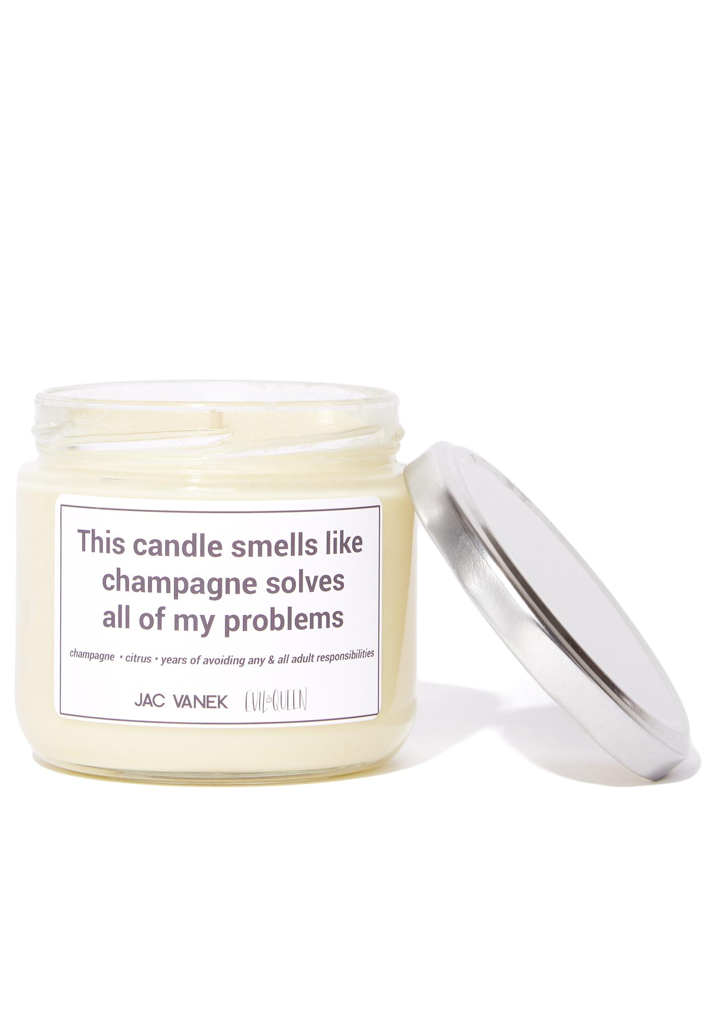 Jac Vanek Champagne Scented Candle