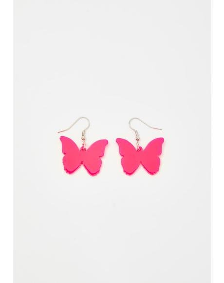 Grace Evolution Butterfly Earrings