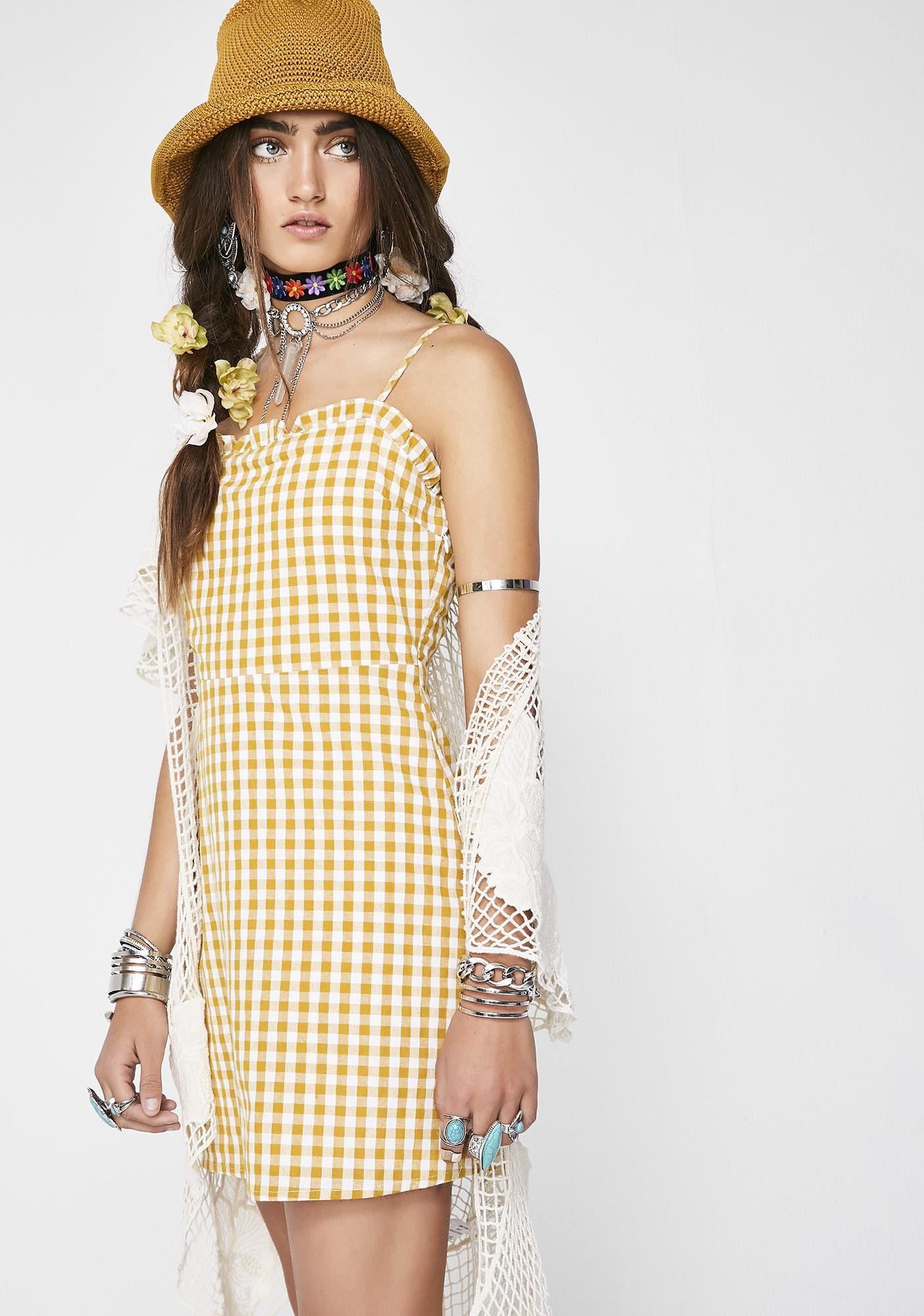 Sunny Skies Mini Dress