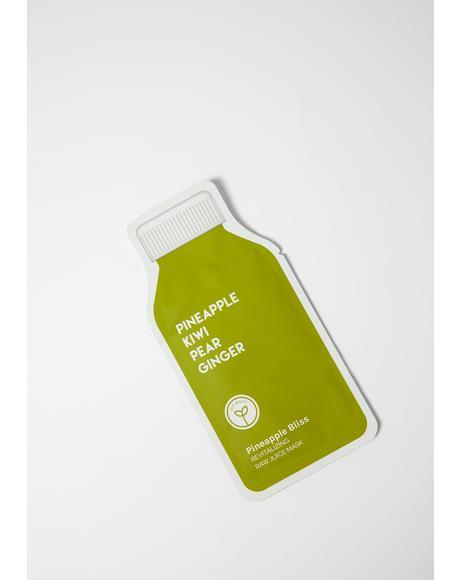 Pineapple Bliss Revitalizing Raw Juice Mask