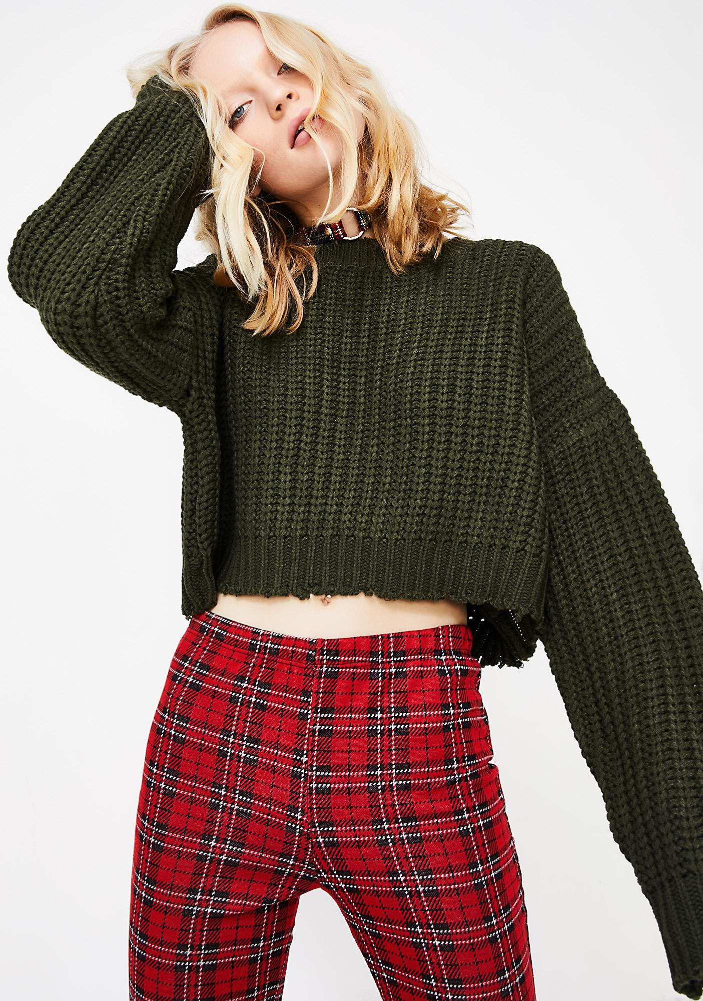 By The Fire Knit Sweater