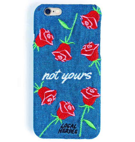 Local Heroes Not Yours iPhone 6 Case