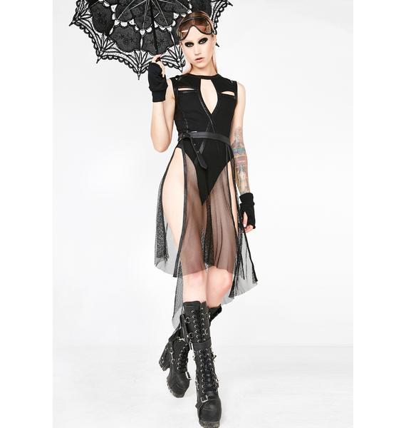 Punk Rave Gothic Individual Net Belt
