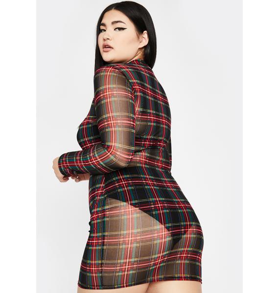 Your Lustful Lass Mesh Dress