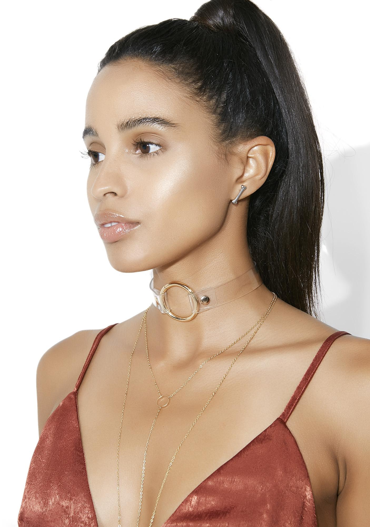 See Thru You O-Ring Choker